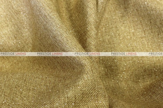Metallic Linen - Fabric by the yard - Gold