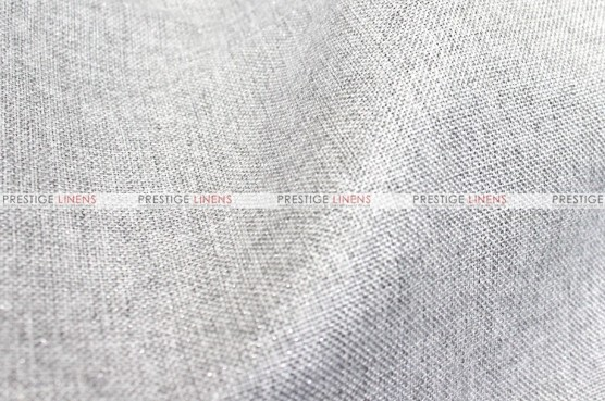 Metallic Linen - Fabric by the yard - Platinum