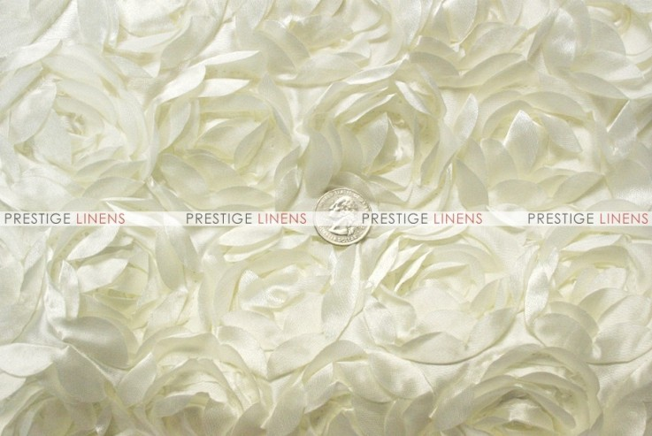Mini Rosette - Fabric by the yard - Ivory
