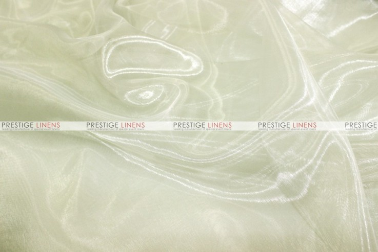 Mirror Organza - Fabric by the yard - 128 Ivory