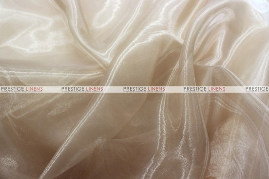 Mirror Organza - Fabric by the yard - 130 Champagne