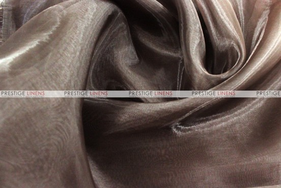 Mirror Organza - Fabric by the yard - 333 Brown