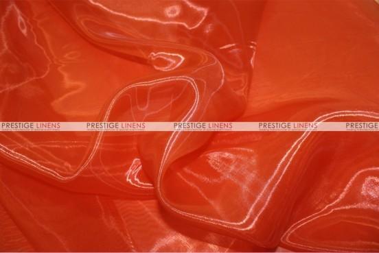 Mirror Organza - Fabric by the yard - 447 Dk Orange