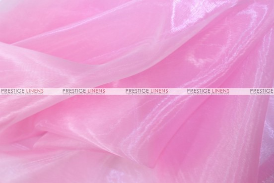 Mirror Organza - Fabric by the yard - 527 Pink