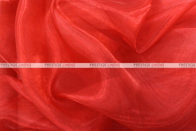Mirror Organza Fabric By The Yard 626 Red Prestige