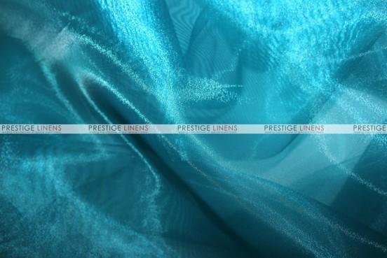 Mirror Organza - Fabric by the yard - 738 Teal