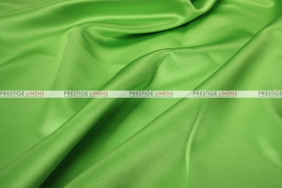 Mystique Satin (FR) - Fabric by the yard - Apple Green