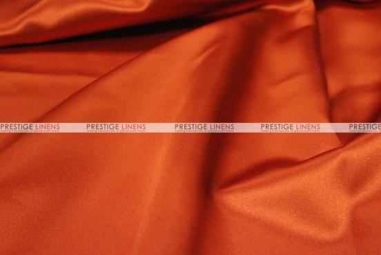 Mystique Satin (FR) - Fabric by the yard - Burnt Orange