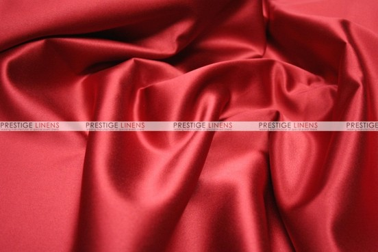 Mystique Satin (FR) - Fabric by the yard - Red