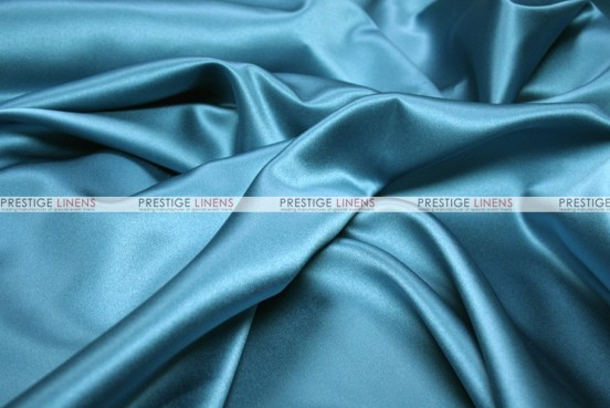 Mystique Satin (FR) - Fabric by the yard - Teal