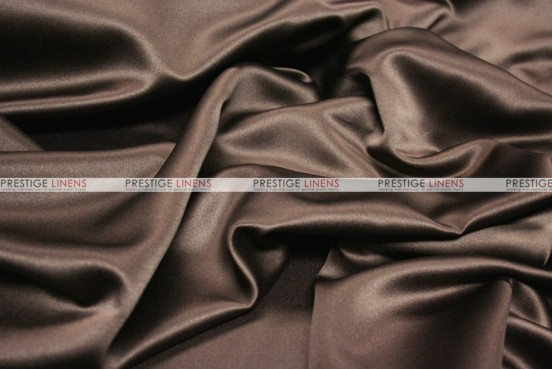 Mystique Satin (FR) - Fabric by the yard - Ultra Brown