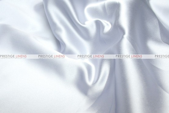Mystique Satin (FR) - Fabric by the yard - Ultra White