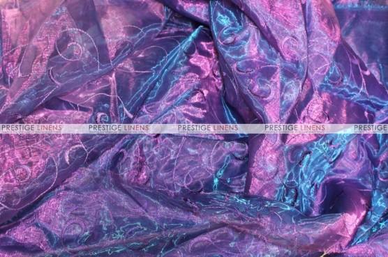 Organza Swirl - Fabric by the yard - 1036 Barney