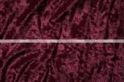 Panne Velvet - Fabric by the yard - Burgundy