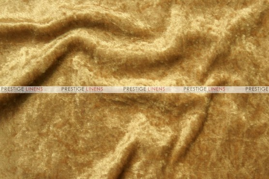 Panne Velvet - Fabric by the yard - Gold