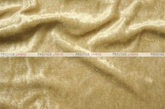 Panne Velvet - Fabric by the yard - Honey