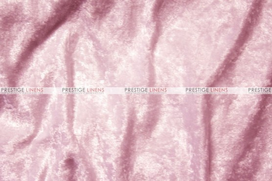 Panne Velvet - Fabric by the yard - Pink