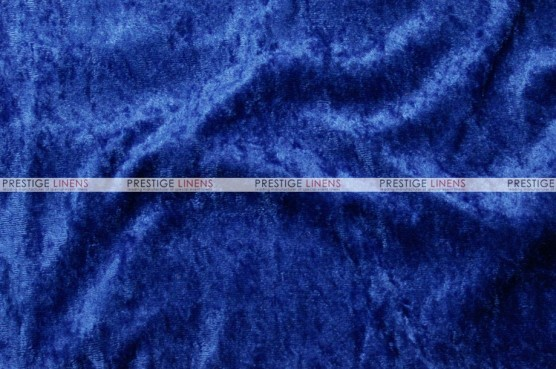 Panne Velvet - Fabric by the yard - Royal