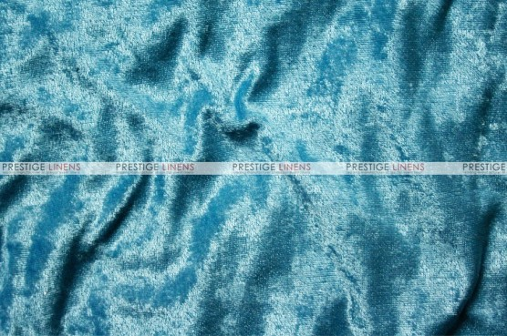 Panne Velvet - Fabric by the yard - Turquoise