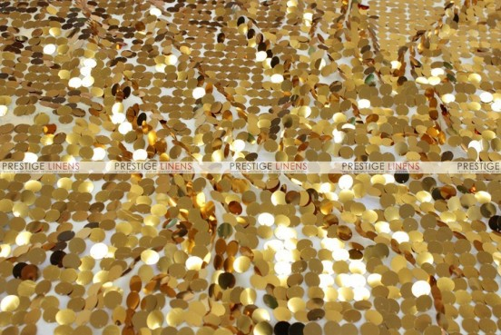 Payette Sequins - Fabric by the yard - Gold