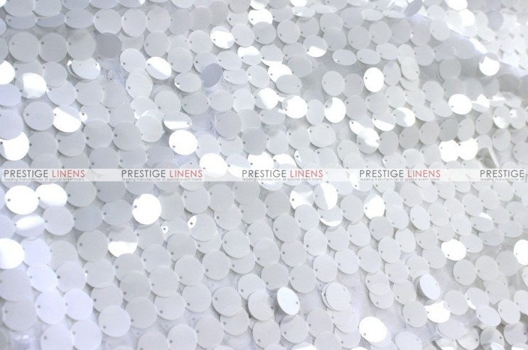 Payette Sequins - Fabric by the yard - White