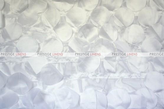 Petal Taffeta - Fabric by the yard - White