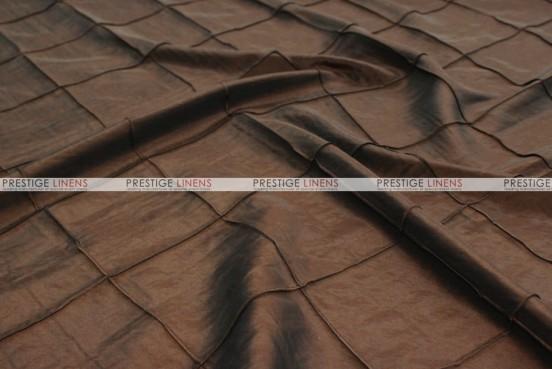 Pintuck Taffeta - Fabric by the yard - Brown