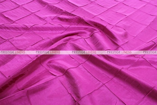 Pintuck Taffeta - Fabric by the yard - Fuchsia