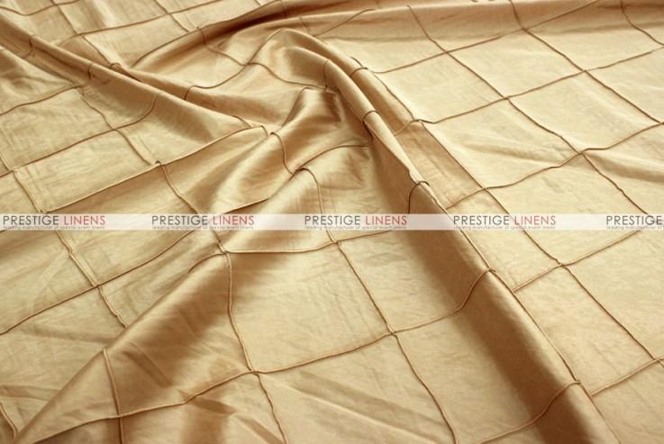 Pintuck Taffeta - Fabric by the yard - N Gold