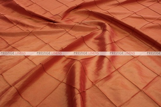 Pintuck Taffeta - Fabric by the yard - Orange