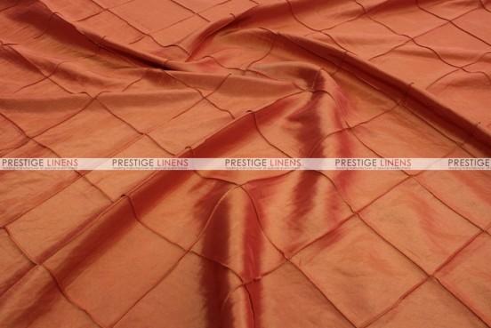 Pintuck Taffeta - Fabric by the yard - Orange