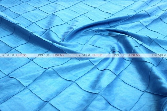 Pintuck Taffeta - Fabric by the yard - Turquoise
