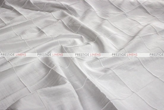Pintuck Taffeta - Fabric by the yard - White