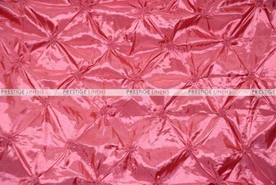 Pinwheel Taffeta - Fabric by the yard - Coral