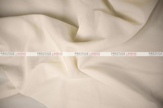 Polyester Poplin - Fabric by the yard - 128 Ivory