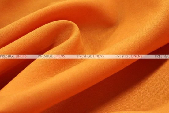 Polyester Poplin - Fabric by the yard - 431 Orange