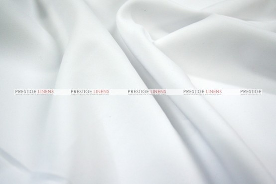 Polyester Poplin (Double-Width) - Fabric by the yard - 126 White
