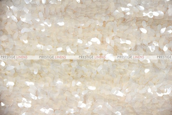 Raindrop Sequins - Fabric by the yard - Champagne
