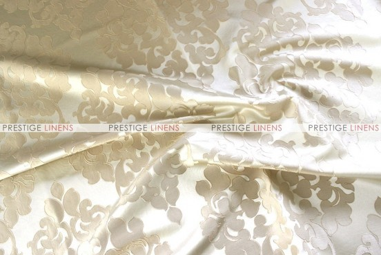Regal Jacquard - Fabric by the yard - Beige