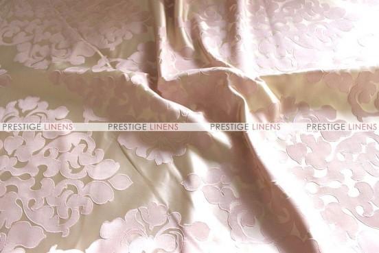Regal Jacquard - Fabric by the yard - Blush