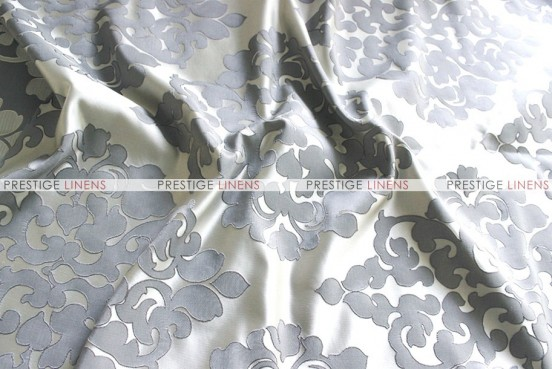 Regal Jacquard - Fabric by the yard - Silver