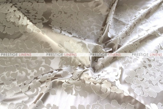 Regal Jacquard - Fabric by the yard - Taupe