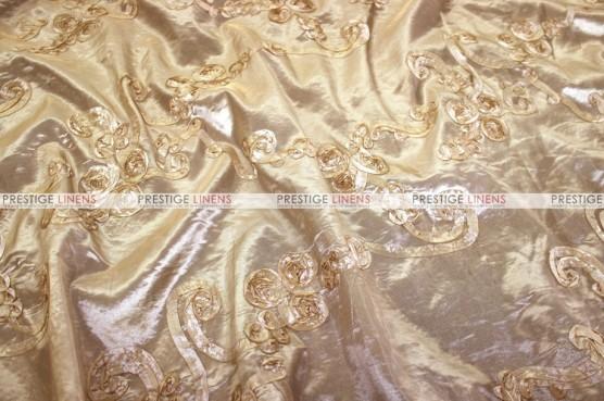 Ribbon Taffeta - Fabric by the yard - Champagne