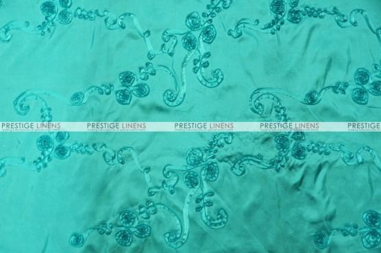 Ribbon Taffeta - Fabric by the yard - Dk Aqua