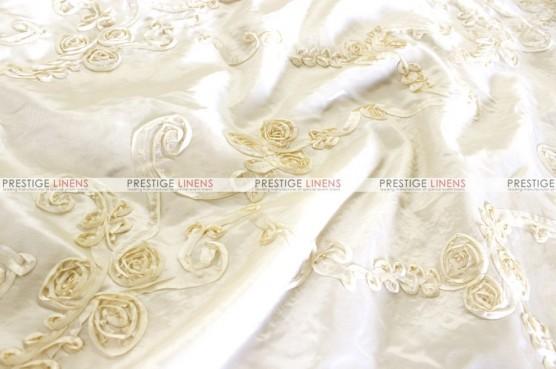 Ribbon Taffeta - Fabric by the yard - Ivory