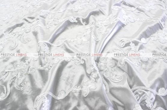 Ribbon Taffeta - Fabric by the yard - White