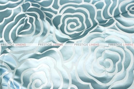 Rose Jacquard - Fabric by the yard - Aqua