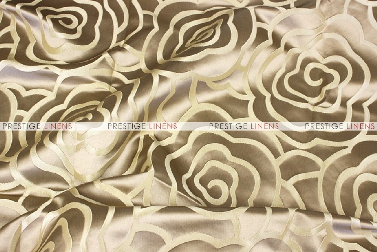 Rose jacquard fabric by the yard gold prestige linens for Jacquard fabric