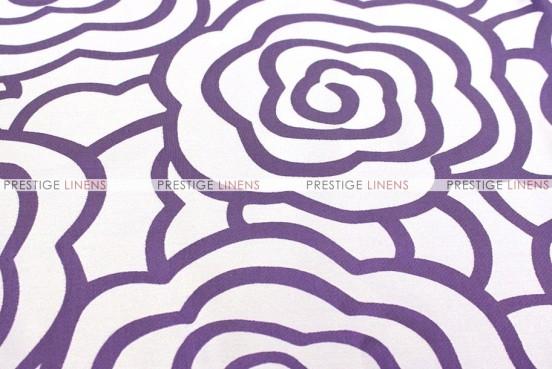 Rose Jacquard - Fabric by the yard - Plum