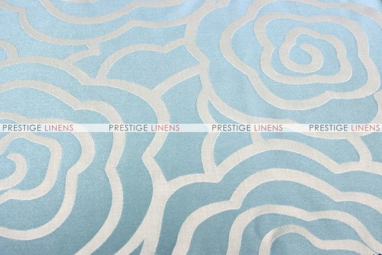 Rose Jacquard - Fabric by the yard - Turquoise